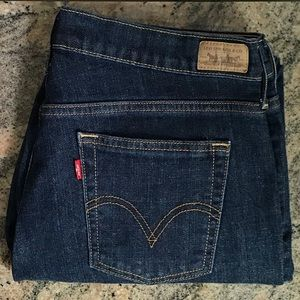 Women's Levi's 505 straight leg Denim Jeans 10